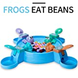 IJUSTBY Hungry Frog Eating Beans Toy Games Set