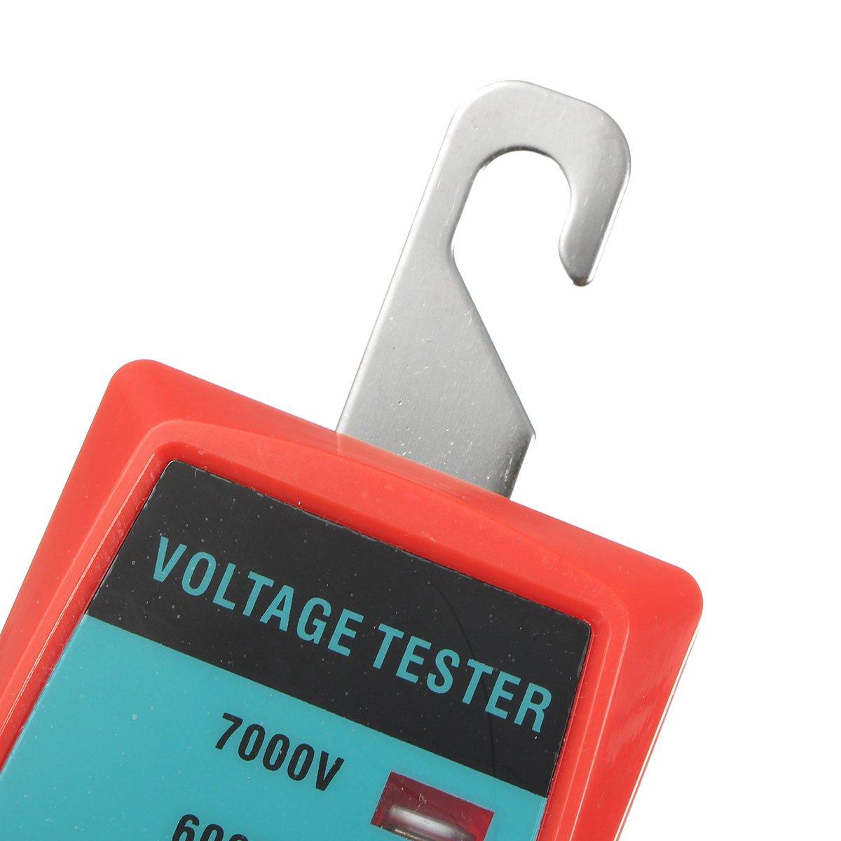 ILS/ /Handheld el/éctrico Valla Detector de Voltaje 600/V a 7000/V Voltaje Medir Herramientas de Jardiner/ía