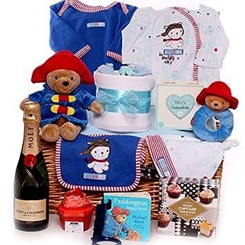 de lujo para regalo Cestas de mimbre para beb/é