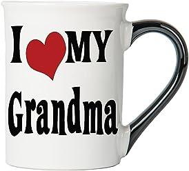 Tumbleweed I Love My Grandma 20 Oz. Ceramic Coffee Mug