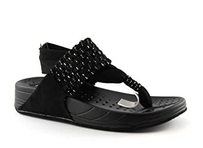 Chaussures Noires Kahlua Noire Lanière Pregunta Les Élastique Femme 4q8SUTwz