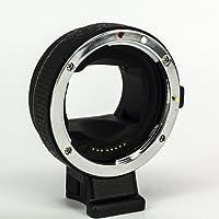 Zelesouris Auto Focus EF-NEX EF-EMOUNT FX Lens Mount Adapter for Canon EF EF-S Lens to Sony E Mount NEX 3/3N/5N/5R/7/A7 A7R Full Frame