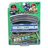 Turning Mecard Train Sets BLUE children's toys gift Korean TV anime TOY [parallel import goods]