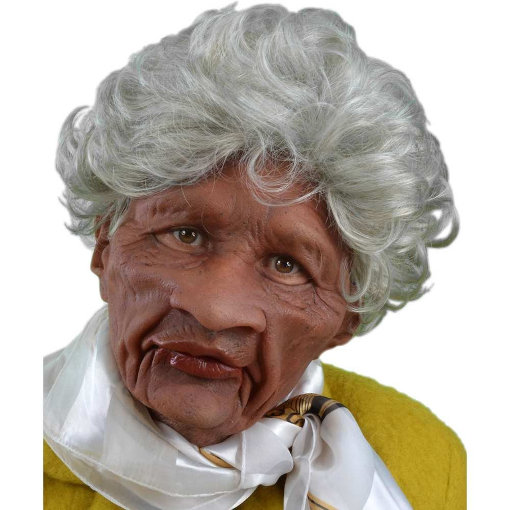 Brown One Size Zagone Studios Men's Auntie , Brown, Adult One Size (US)