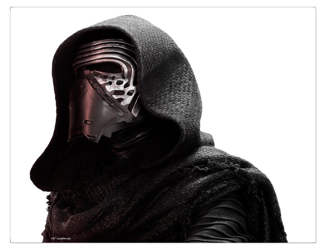Star Wars FanWraps The Force Awakens Passenger Series Kylo Ren Perforated Window Decal