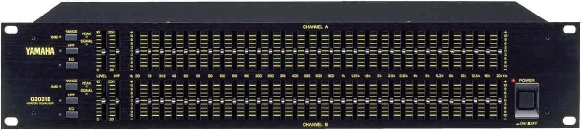 Yamaha Q2031B Dual-Channel Graphic Equalizer