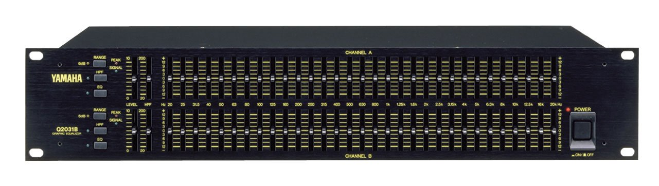 Yamaha Q2031B Dual-Channel Graphic Equalizer by Yamaha