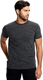 product image for US Blanks US2229 Men's Men's Short-Sleeve Triblend Crew Tri Charcoal Small