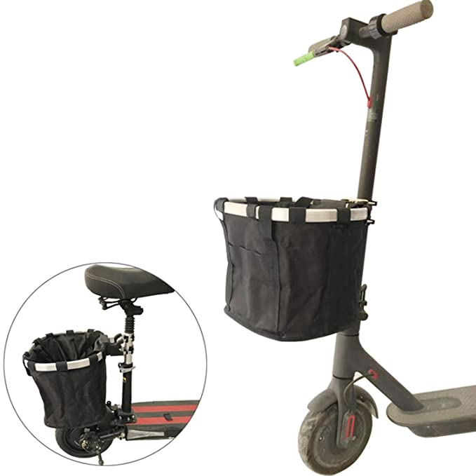XULONG Scooter eléctrico para Adultos, cestas, Impermeables ...