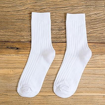 5 Doble macho socks versión coreana de los calcetines de algodón, Retro es un color