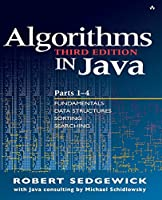 Algorithms in Java, Parts 1-4, 3rd Edition Front Cover