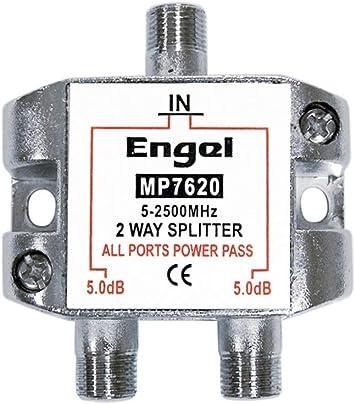 Engel Systems. Mp-7620E - Distribuidor antena coaxial 1 ent/2 ...