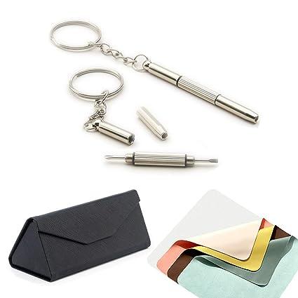 Kit de herramientas para gafas, destornillador, llavero ...