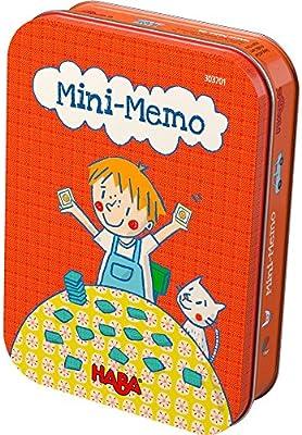 Mini memo - juego de mesa para niños de HABA en castellano: Amazon ...