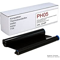 Compatible Thermal Transfer Ribbon Replacement for Philips Magic 5 Fax Machines / Replaces PFA 351 and PFA 352 Capacity 140 Pages with Chip