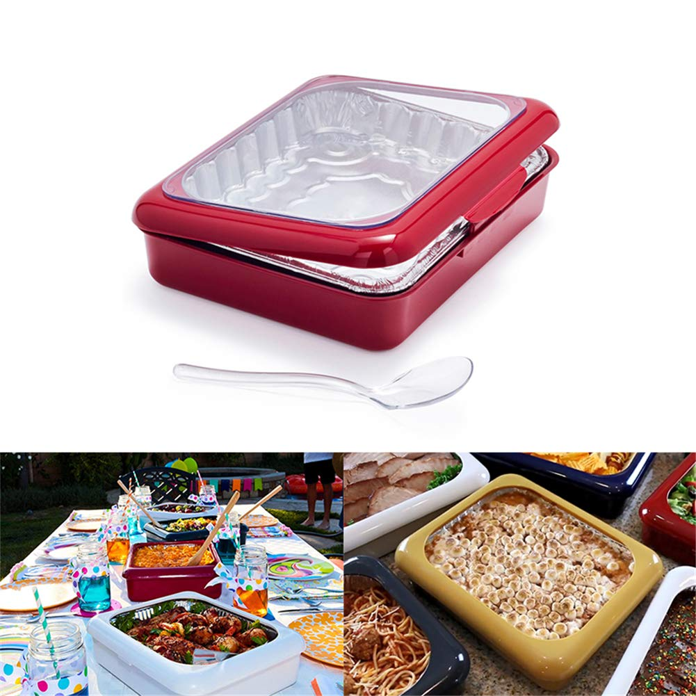 AFGQIANG The Classy Casserole Carrier (Red) by AFGQIANG