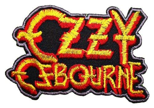 Back Dark T-shirt - Ozzy Ozzie Osbourne Black Sabbath t Shirt Logo MO03 Patches