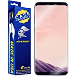 ArmorSuit - Galaxy S8+ Screen Protector [Case Friendly] MilitaryShield For Samsung Galaxy S8+ Anti-Bubble Lifetime Replacement HD Clear