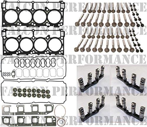5.7 HEMI Cylinder Head Gasket Set+Bolts+MDS Lifters 05-08 (Hemi Top End KIT) (Hemi Top)