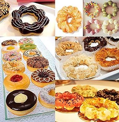 4 pcs eléctrico Sweet eléctrica en forma de rosquilla Donuts tarta ...