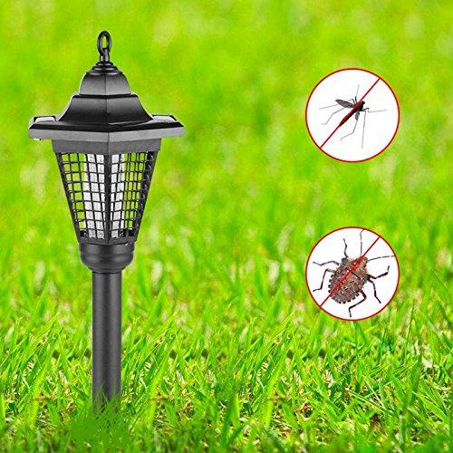 Zapper Killer UV Lamp Garden Yard Walkway Lawn Landscape Outdoor Light by LitleMat (Image #1)