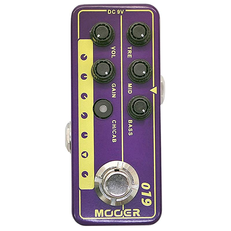 Mooer Micro Preamp 019
