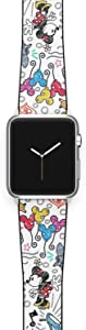 Watch Band Compatible with Apple iWatch All Series 38mm 40mm 42mm 44mm Cartoon Design Strap (mouse1) (42/44mm)