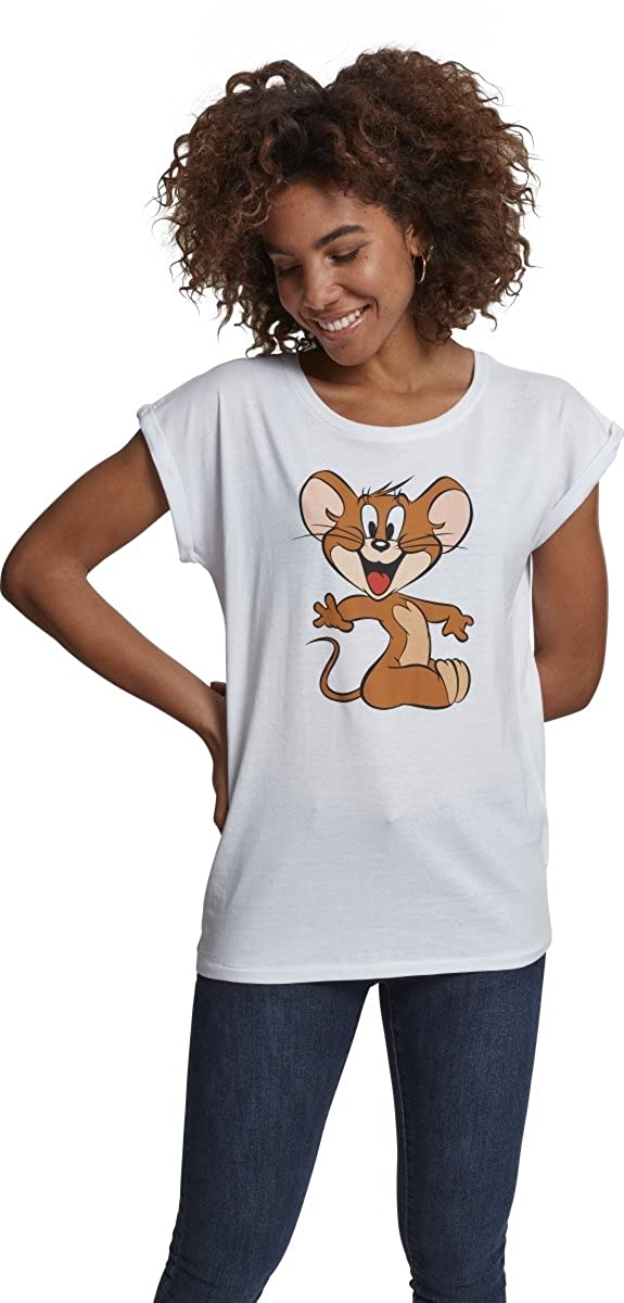 MERCHCODE Ladies Tom & Jerry Mouse tee Camiseta para Mujer