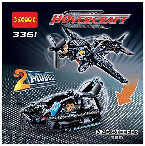 Decool 2 in 1 Hovercraft oder Kampfflugzeug 170 Bausteine im Originalverpackung