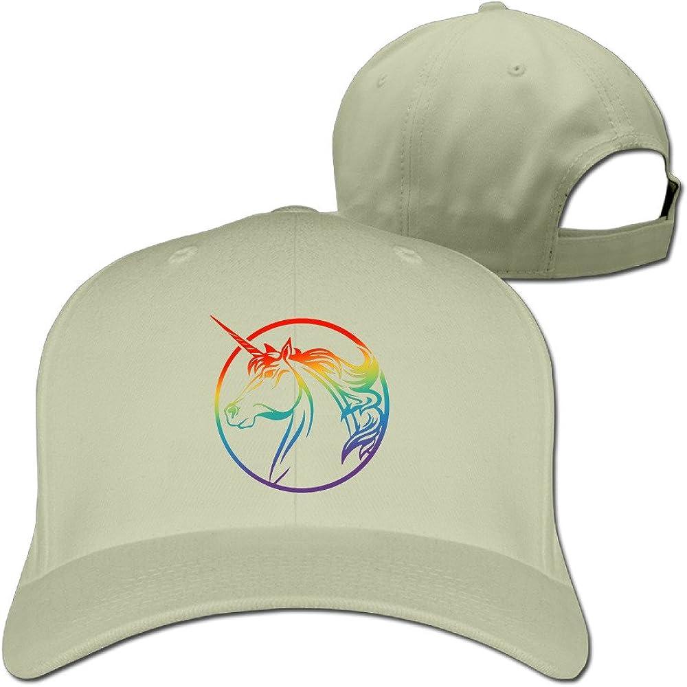 Rainbow Plat Mode réglable Unicorn Gay et lesbien Pride Casquette d'hiver Chapeaux