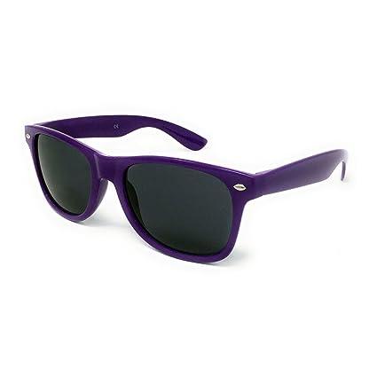 Negro de rayos UV gafas de sol de lente con diseño de ...