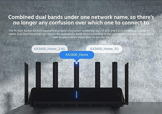 Mi Ax3600 Aiot Router Wifi 6 5g Wpa3 Wifi6 600mb Dual Elektronik