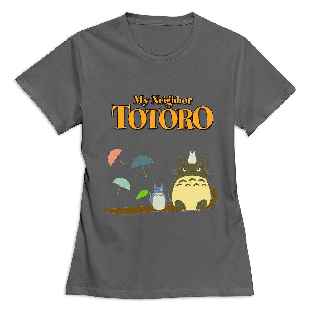 Soulya Women S My Neighbor Totoro Spring Short Sleeve T ...