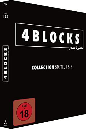 4 Blocks Collection Staffel 12 4 Blu Rays Amazonde Kida