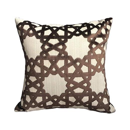 Sofá De Almohada De Diseño En Chenille De Diseño Jacquard ...