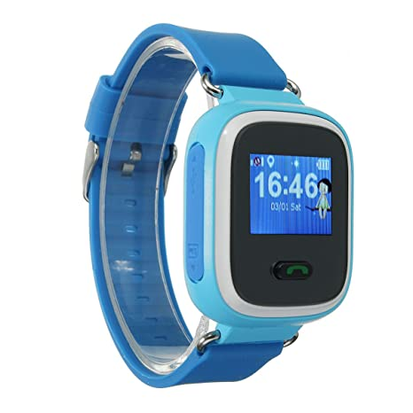 5e5c0e155bc Image Unavailable. Image not available for. Color  AndroFIT Q60 Kid GPS  Smart Watch Wristwatch SOS ...