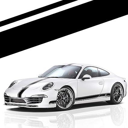 Decal Sticker Full Stripe Kit for Porsche 911 Sport Window Tint Exterior Part