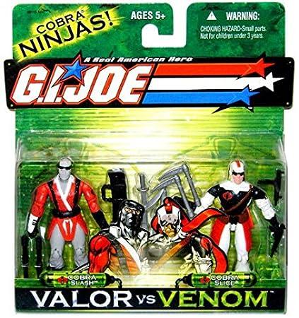 GI JOE Hasbro Valor Vs. Venom 3 3/4 Scale 2Pack Cobra Slash & Cobra Slice