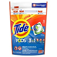 Deals on Tide PODS Liquid Laundry Detergent Pacs, Original, 35-Count