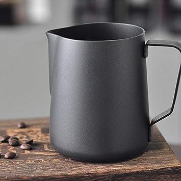 Jarra de leche de acero inoxidable para leche de café café ...