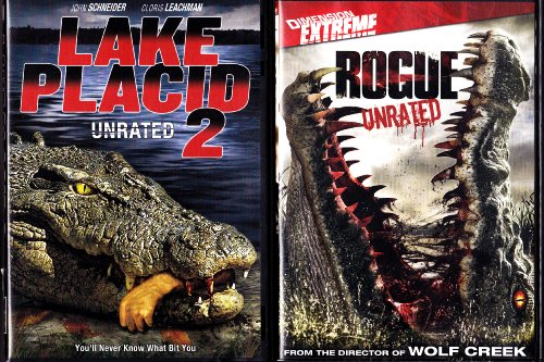Rogue , Lake Placid 2 : Alligator Horror 2 Pack