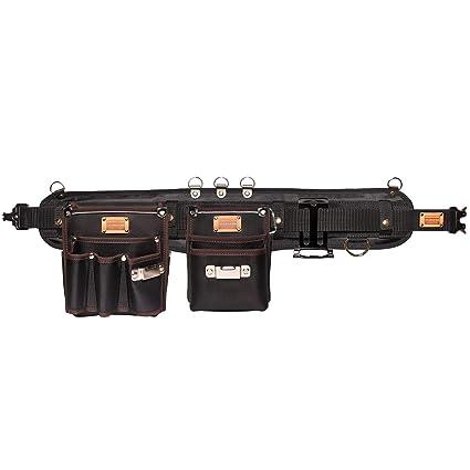 Professional Tool Belt Carpenter Suspender Strap Holster Pocket Pouch Framer Rig