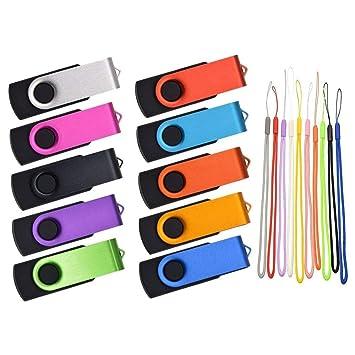 32GB Memoria USB 100 Piezas Pen Drive Metal USB 2.0 Pendrive ...