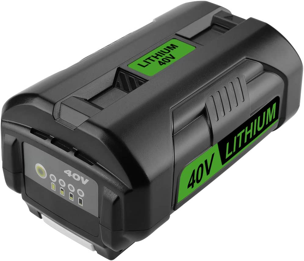 Powilling OP4050A 40V 5.0Ah Replacement Lithium Battery Best Lawn Mower Battery