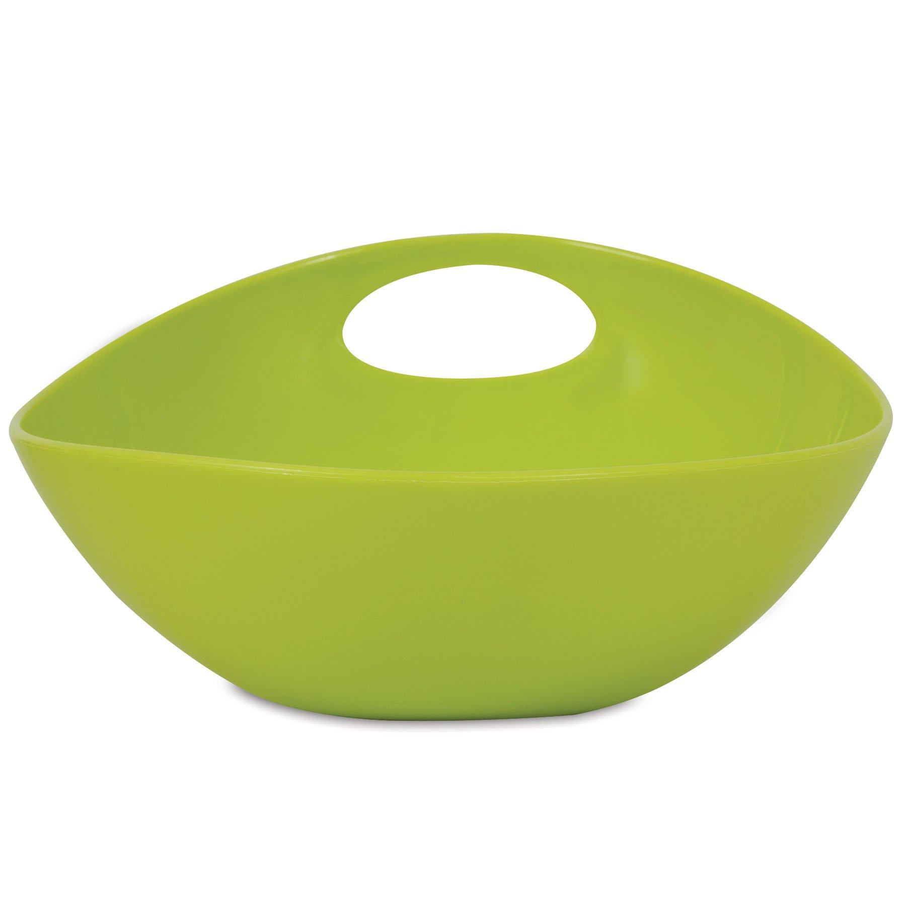 Wetnoz 23568 5-Cup Studio Scoop Dog Dish, Large, Pear