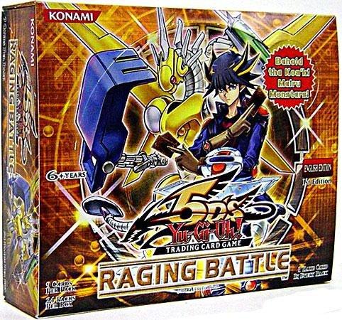 Yu-Gi-Oh! 5D's Battles - Raging Battles 5D's Booster Display (englisch) 9349e4