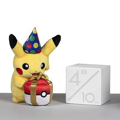 Pokémon POKÉ Plush Birthday Pikachu: Toys & Games
