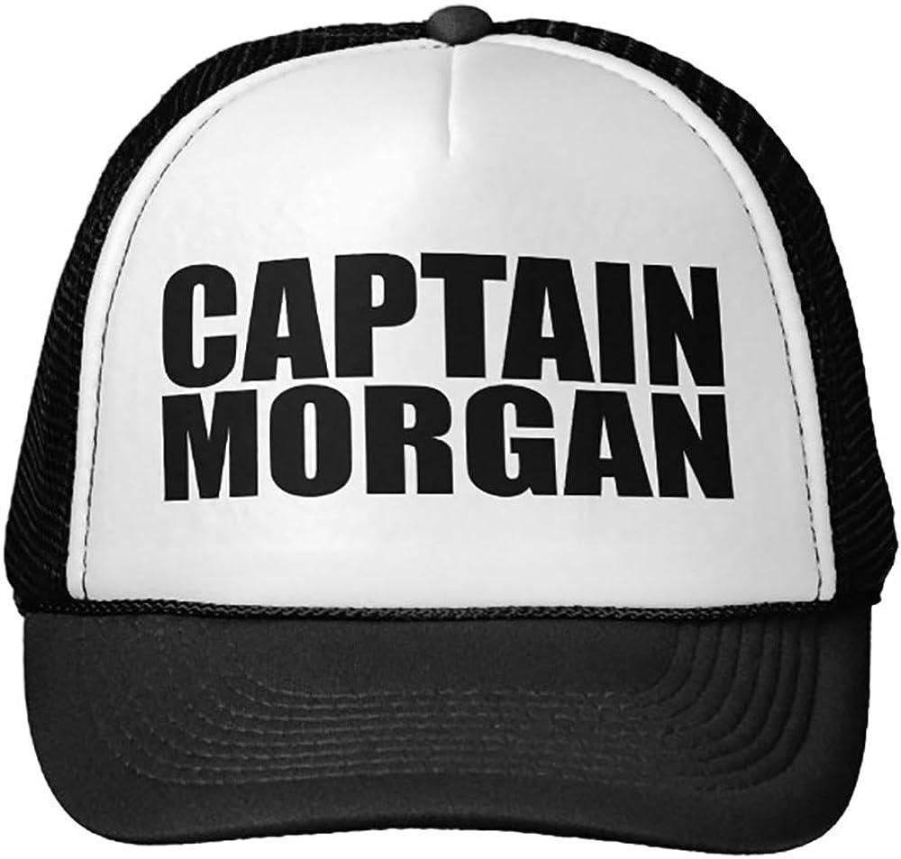 Smity 106 Oxygentees Captain Morgan Trucker Hat Black
