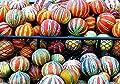 10 Rare Kajari Melon Seeds - Bright Striped Melon, Compact Vines - 60-70 Days till Ripe - Grows in Shade
