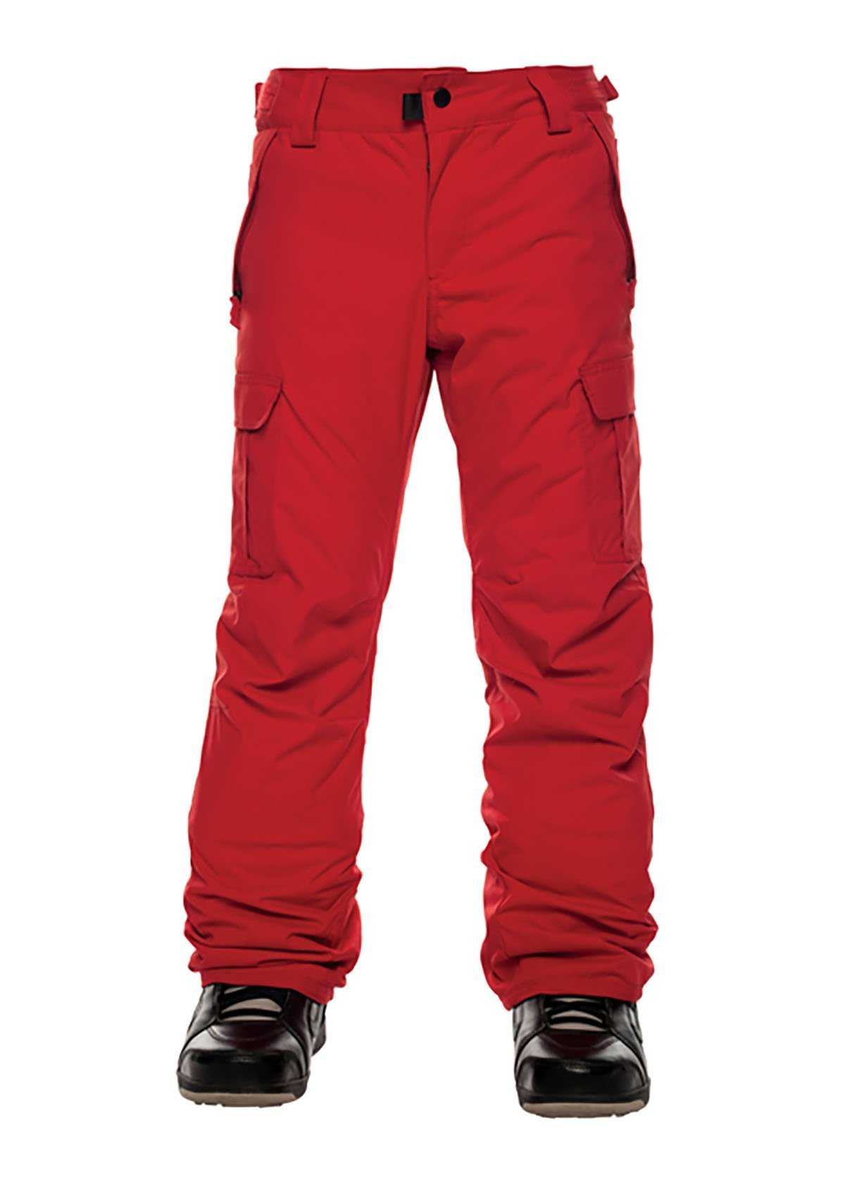 686 Boy's All Terrain Insl PNT, Red, Small